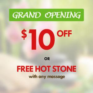 Grand opening special | yuki massage