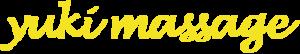Yuki massage logo